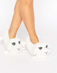 New Look Novelty Sheep Slipper White