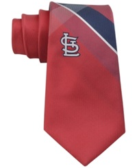 Eagles Wings St. Louis Cardinals Woven Grid Tie Gray