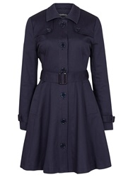 Sugarhill Boutique Kerry Mac Jacket Navy Blue