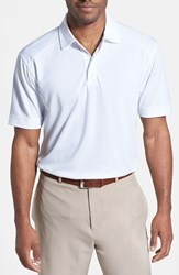 Men's Cutter And Buck 'Genre' Drytec Moisture Wicking Polo White