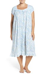 Eileen West Plus Size Women's Nightgown