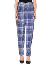 Equipment Femme Trousers Casual Trousers Women Blue