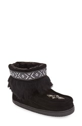 Manitobah Mukluks Women's 'Keewatin' Genuine Shearling And Rabbit Fur Boot