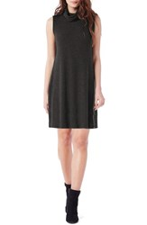 Michael Stars Women's Cowl Neck Rib Sweater Dress
