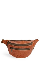 Patricia Nash 'Tooled Cologne' Leather Fanny Pack Brown Florence