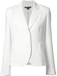 Theory Lightweight Blazer White