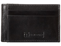 Trafalgar Cortina Card Case Black Credit Card Wallet