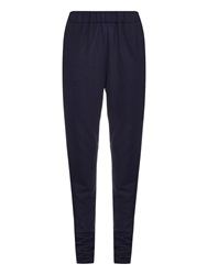 Tomas Maier Fleece Lined Slim Leg Track Pants