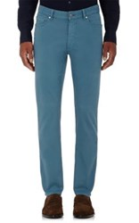Ermenegildo Zegna Men's Five Pocket Jeans Blue