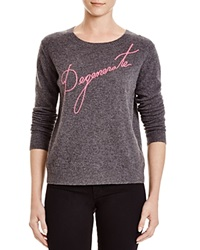 Milly Degenerate Cashmere Sweater