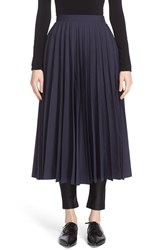 Junya Watanabe Women's Pleated Taffeta Skirt