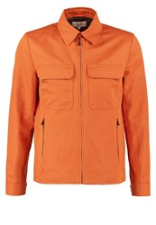 Reiss Horizon Summer Jacket Brick Red