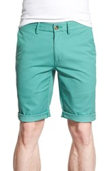 Men's Ben Sherman Slim Fit Stretch Cuffed Shorts