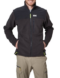 Helly Hansen Fleece Track Jacket Ebony