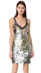 Parker Benny Dress Metallic