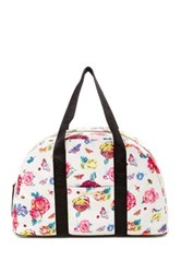 Betsey Johnson Weekend Bag With Yoga String Pink