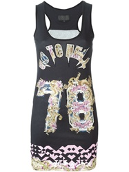 Philipp Plein 'Nice Way' Tank Top Black