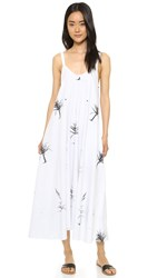 Veda Bombay Dress White Aloe