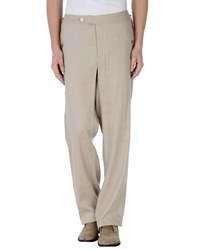 Class Roberto Cavalli Trousers Casual Trousers Men Beige