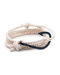 Miansai Men's Hook Rope Bracelet Navy