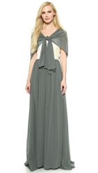 Joanna August Ava Long Convertible Dress Smoke