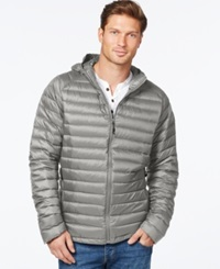 Weatherproof Packable Down Jacket Silver