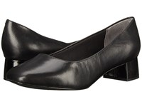 Trotters Lola Black Dress Kid Leather Women's 1 2 Inch Heel Shoes