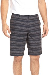 Travis Mathew Men's Ez Peezy Stripe Hybrid Shorts