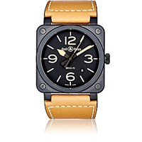 Bell And Ross Men's Br 03 92 Heritage Watch Brown