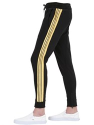 Lords And Fools Cotton Jogging Pants With Side Bands