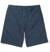 Margaret Howell Mhl Cotton Shorts Blue