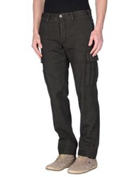 Icon Casual Pants Dark Brown