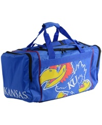 Forever Collectibles Kansas Jayhawks Core Duffle Bag Black