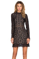 For Love And Lemons Florence Cocktail Dress Black