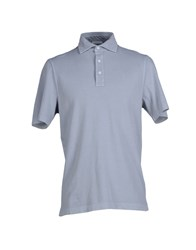 Zanieri Topwear Polo Shirts Men Dark Blue