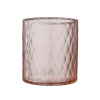 Day Birger Et Mikkelsen Diamond Handcut Glass Votive Summer Blush 15X15cm
