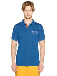 Paul And Shark Cotton Pique Fit Polo Shirt
