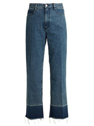 Rachel Comey Legion High Rise Slim Leg Jeans Dark Blue