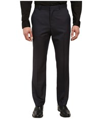 Perry Ellis Mini Check Dress Pants Navy Men's Dress Pants