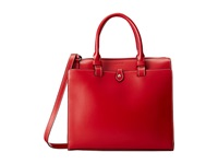 Lodis Audrey Linda Medium Satchel Red Black Satchel Handbags