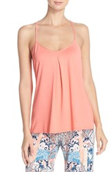 Women's In Bloom By Jonquil Lace Back Camisole