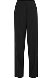 Christopher Kane Wool Crepe Wide Leg Pants