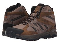 Montrail Sierravada Mid Leather Outdry Wet Sand Desert Sun Men's Shoes Brown