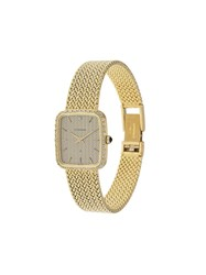 Eterna Rectangular Case Watch Metallic