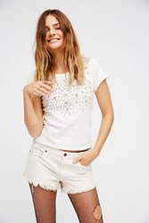 Free People Womens Soft And Relaxed Cut Off