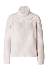 Brunello Cucinelli Cashmere Silk Heavy Knit Turtleneck Pullover