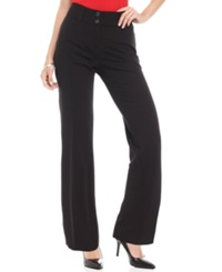 Alfani Petite Curvy Fit Pants Black