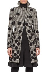 Akris Punto Women's Houndstooth And Dot Print Coat