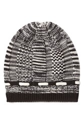 Missoni Wool Variegated Knit Beanie Multicolor