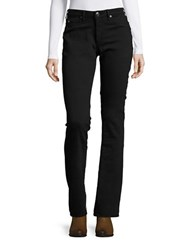 True Religion Jennie Curvy Bootcut Jeans Jet Black